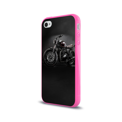 Чехол для Apple iPhone 4/4S силиконовый глянцевый Triumph 1 Фото 01