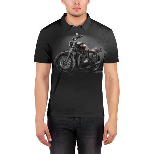 Мужская рубашка поло 3D  Фото 03, Triumph 1