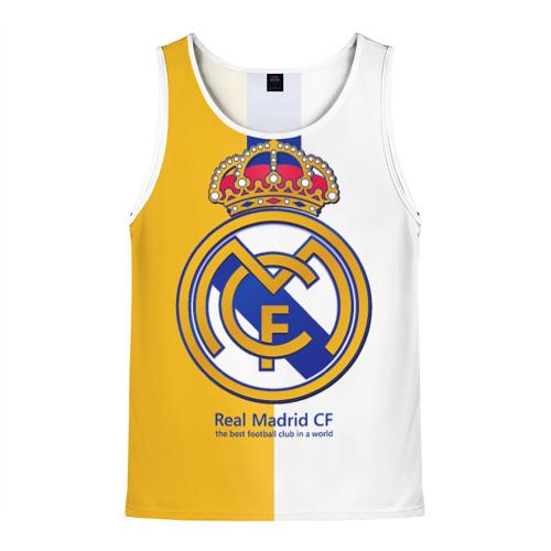 Мужская майка 3D  Фото 01, Real Madrid CF