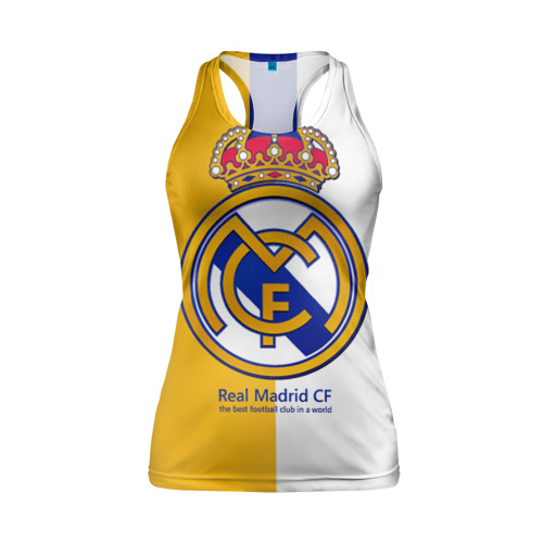 Женская майка 3D спортивная Real Madrid CF