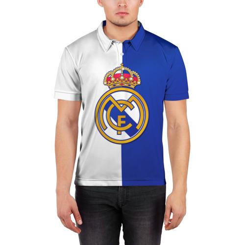 Мужская рубашка поло 3D  Фото 03, Real Madrid