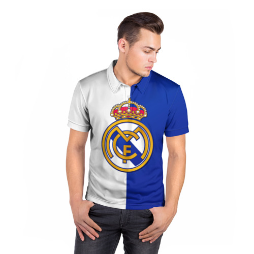 Мужская рубашка поло 3D  Фото 05, Real Madrid