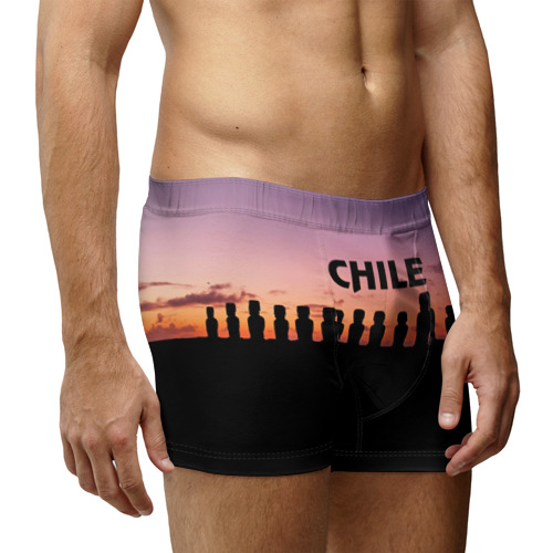 Мужские трусы 3D  Фото 03, Чили