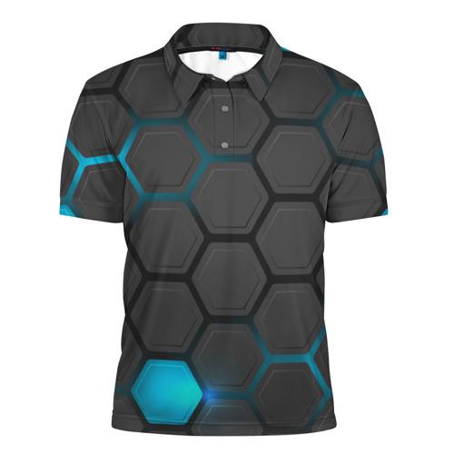 Мужская рубашка поло 3D  Фото 01, Pat11
