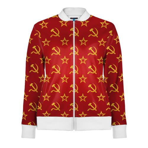 Женская олимпийка 3D СССР