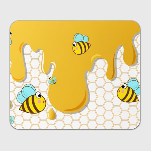 Коврик для мышки прямоугольный  Фото 01, Пчелки