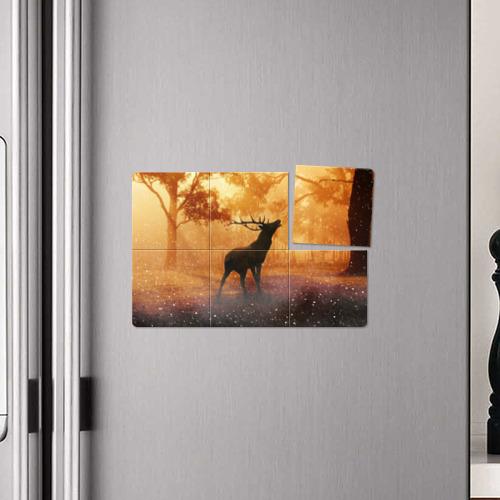 Магнитный плакат 3Х2  Фото 04, Страна оленья