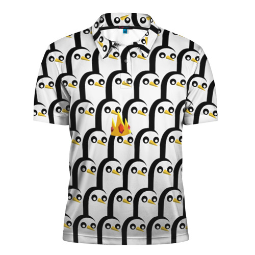 Мужская рубашка поло 3D  Фото 01, Гюнтер