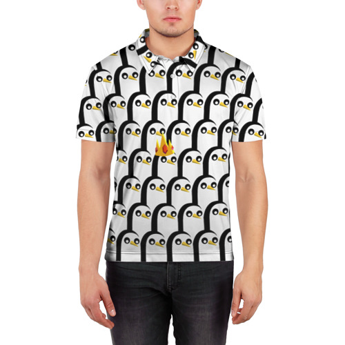 Мужская рубашка поло 3D  Фото 03, Гюнтер