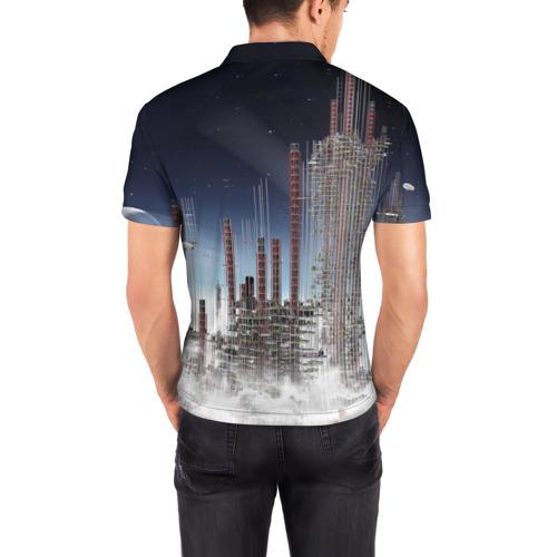 Мужская рубашка поло 3D  Фото 04, Totoro