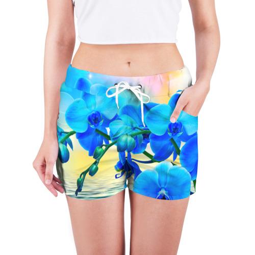 Женские шорты 3D  Фото 03, Орхидеи