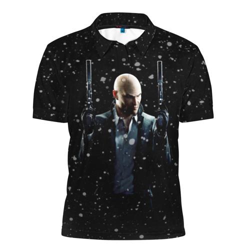 Мужская рубашка поло 3D  Фото 01, Hitman