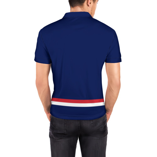Мужская рубашка поло 3D  Фото 04, Columbus Blue Jackets
