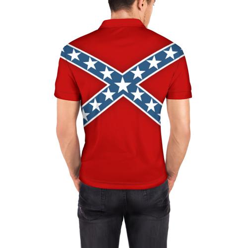 Мужская рубашка поло 3D  Фото 04, Флаг советской конфедерации