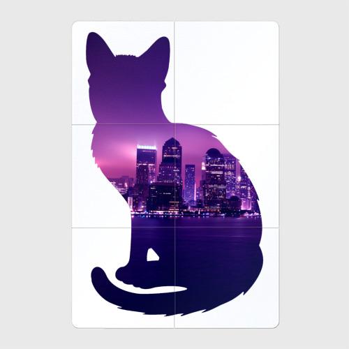 кошка город