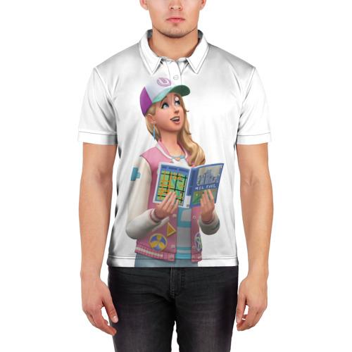 Мужская рубашка поло 3D  Фото 03, The Sims 4