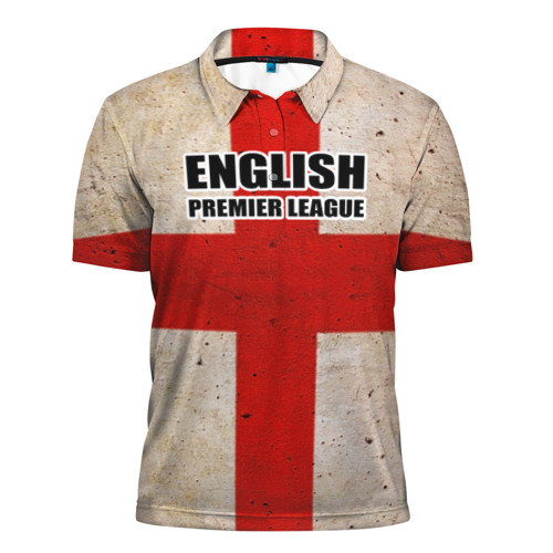 Мужская рубашка поло 3D  Фото 01, English Premier League