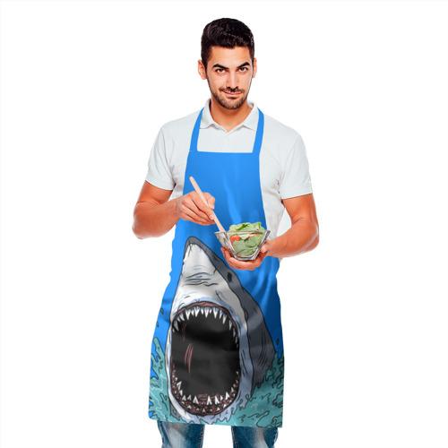 Фартук 3D shark Фото 01