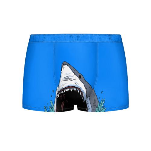 Мужские трусы 3D shark Фото 01