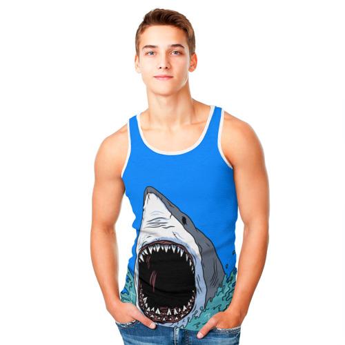 Мужская майка 3D  Фото 05, shark