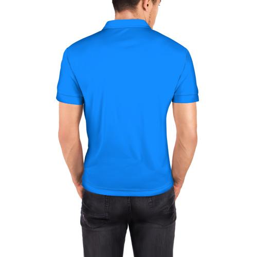 Мужская рубашка поло 3D  Фото 04, shark