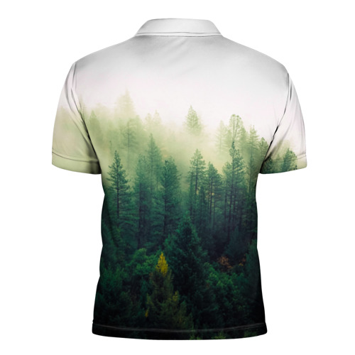 Мужская рубашка поло 3D  Фото 02, Be wild