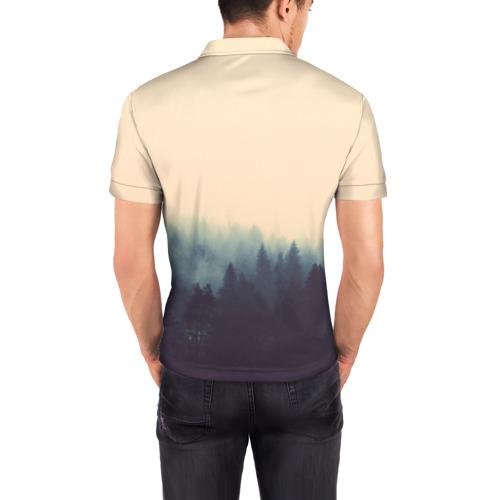 Мужская рубашка поло 3D  Фото 04, Be wild