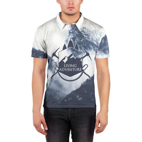 Мужская рубашка поло 3D  Фото 03, приключения