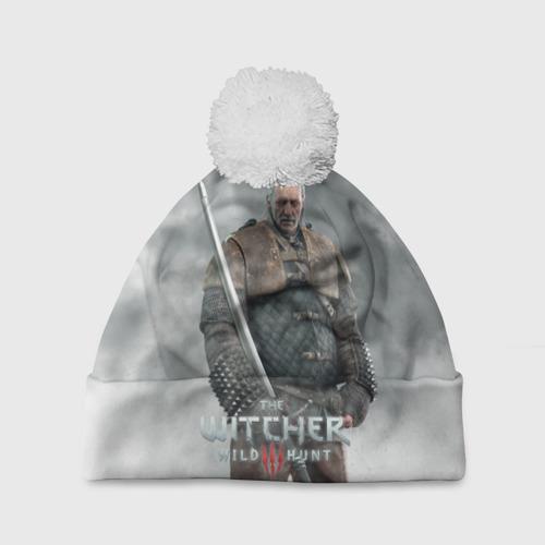Шапка 3D c помпоном  Фото 01, The Witcher