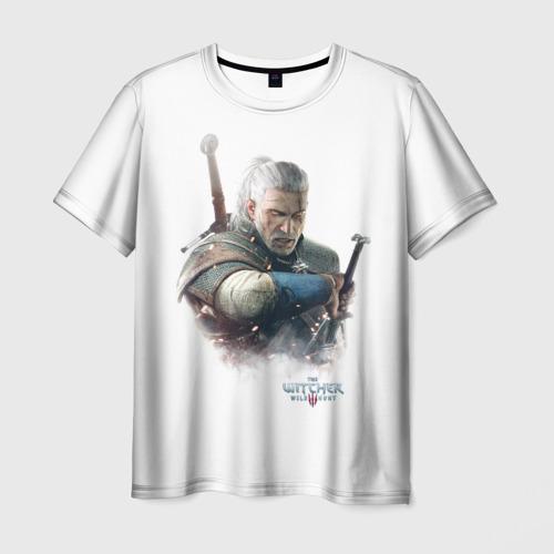 Мужская футболка 3D The Witcher