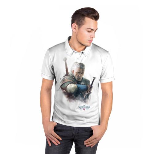 Мужская рубашка поло 3D  Фото 05, The Witcher
