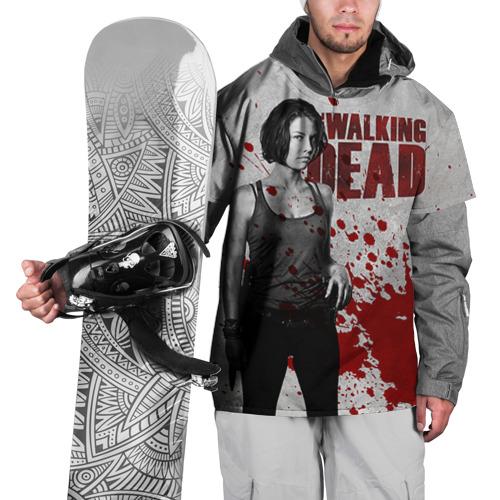 Накидка на куртку 3D  Фото 01, Walking Dead