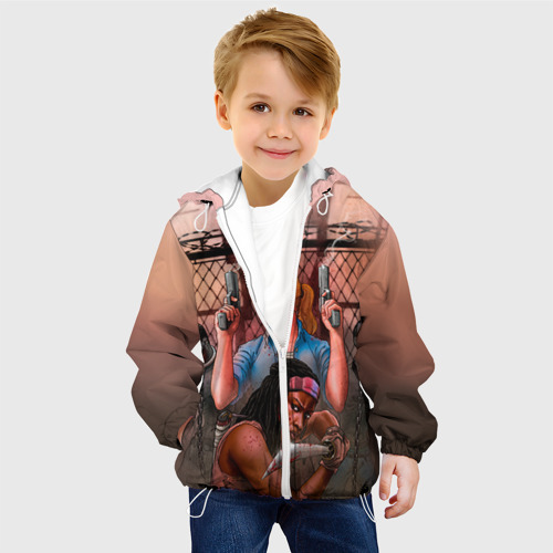 Детская куртка 3D  Фото 03, Walking Dead