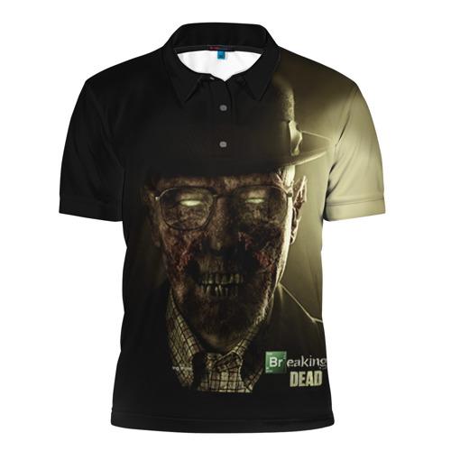 Мужская рубашка поло 3D  Фото 01, Breaking Dead