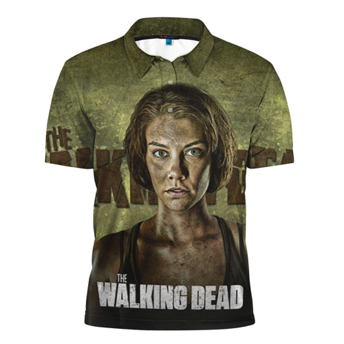 Мужская рубашка поло 3D  Фото 01, Walking Dead