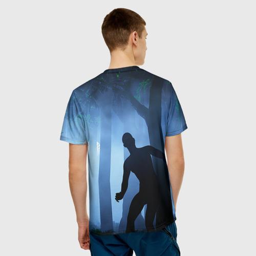 Мужская футболка 3D Walking Dead