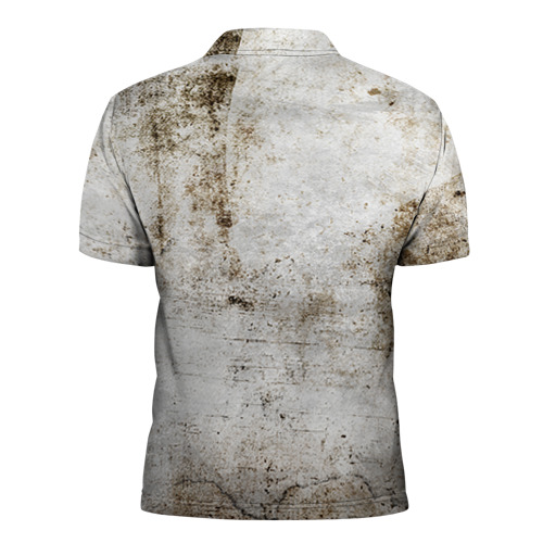 Мужская рубашка поло 3D  Фото 02, Walking Dead
