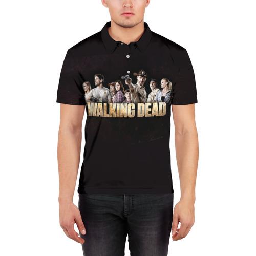 Мужская рубашка поло 3D  Фото 03, Walking Dead
