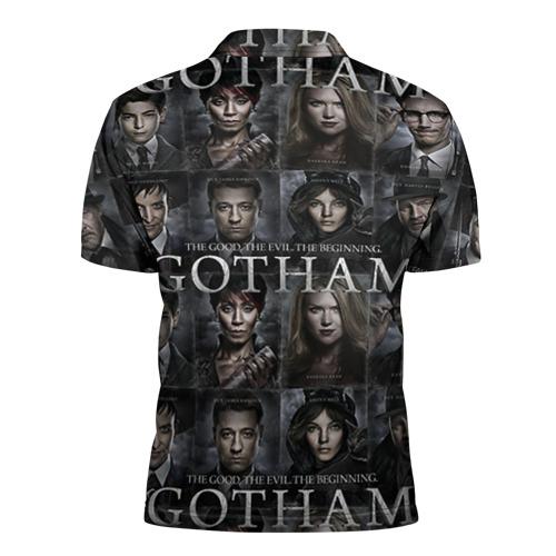 Мужская рубашка поло 3D  Фото 02, gotham gotham gotham