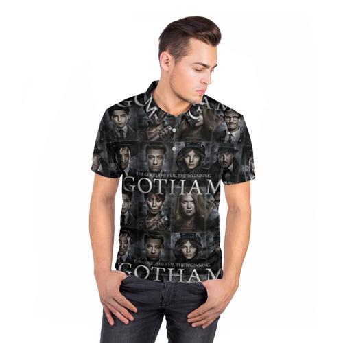 Мужская рубашка поло 3D  Фото 05, gotham gotham gotham
