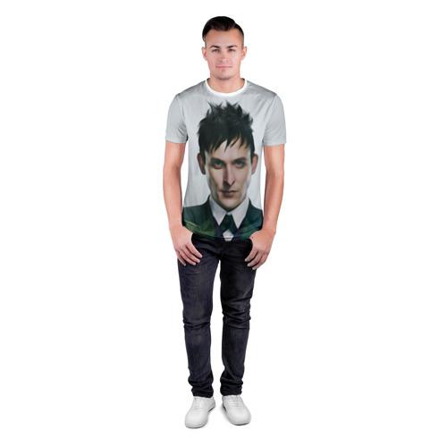 Мужская футболка 3D спортивная  Фото 04, Герой Готэм