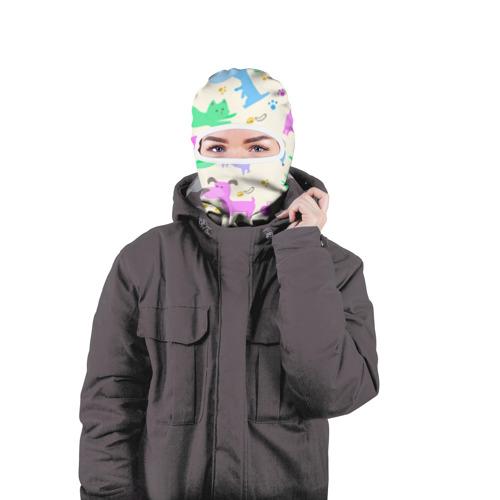 Балаклава 3D  Фото 04, Узор с домашними питомцами