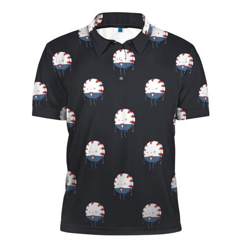 Мужская рубашка поло 3D  Фото 01, Peppermint Butler