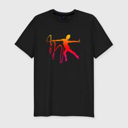 Гимнастка с лентой 2