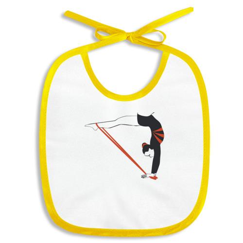 Гимнастка со скакалкой