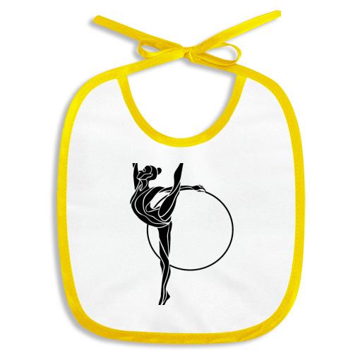 Гимнастка с обручем