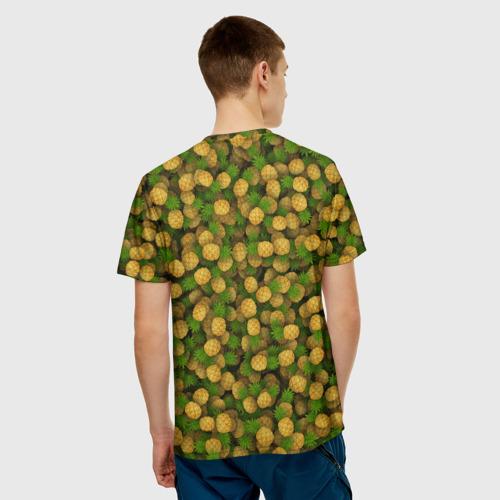 Мужская футболка 3D  Фото 02, Ананасы