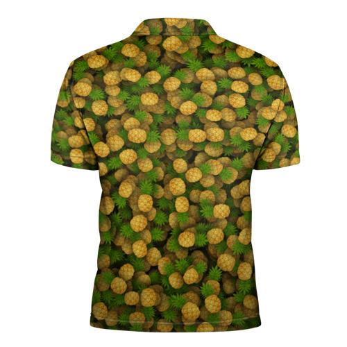 Мужская рубашка поло 3D  Фото 02, Ананасы