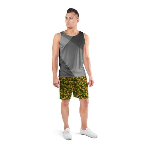 Мужские шорты 3D спортивные  Фото 04, Ананасы