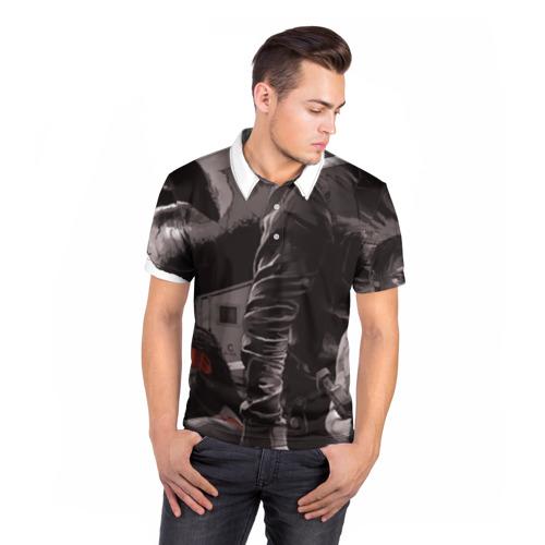 Мужская рубашка поло 3D  Фото 05, TWD: Эпик
